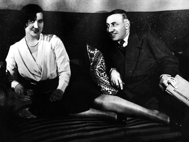 Алиса Коонен и Александр Таиров. Источник: teatrpushkin.ru