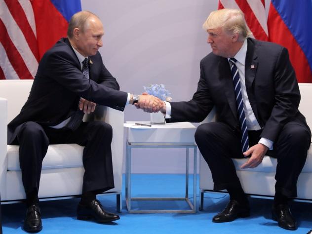 Путин позитивно оценил работу Трампа вобласти экономики