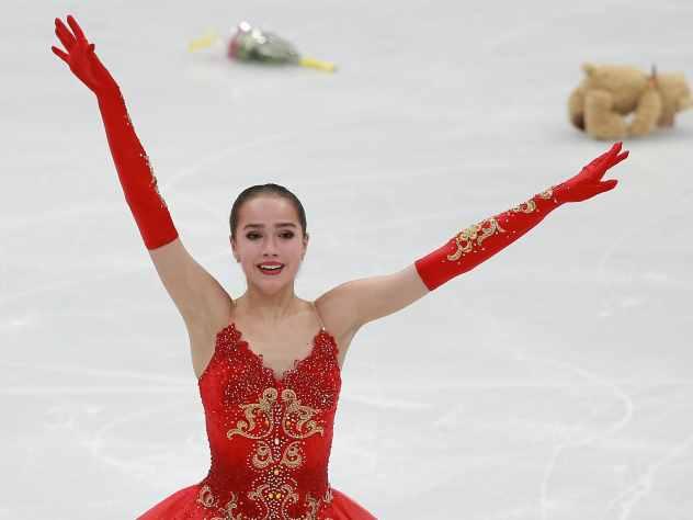 Загитова установила новый мировой рекорд