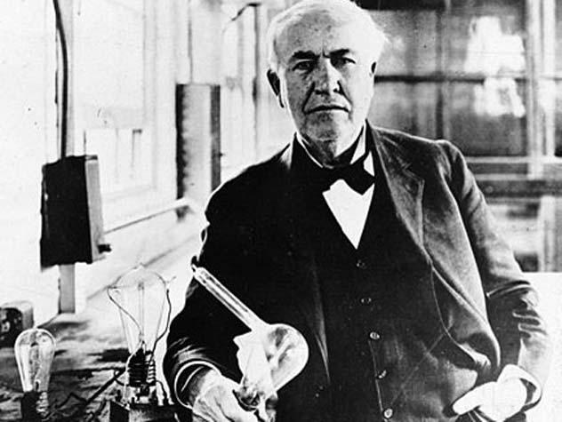 Томас Эдисон. Wikimedia