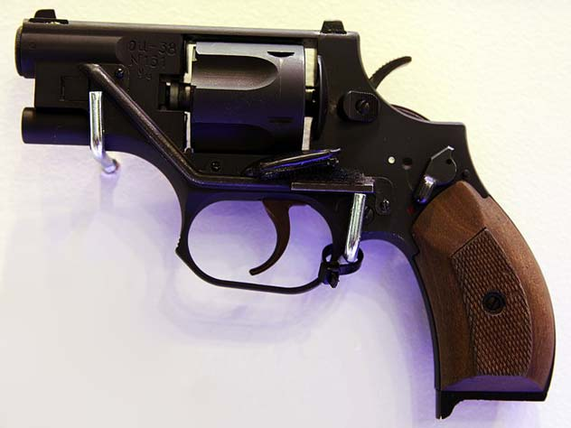 Револьвер Стечкина специальный ОЦ-38. wikipedia