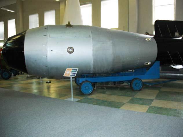Водородная «Царь бомба» или «Кузькина мать». СССР. wikipedia