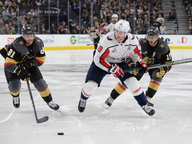 NHL: Stanley Cup Final-Washington Capitals at Vegas Golden Knights, 2-й матч финала Кубка Стэнли Вегас-Вашингтон