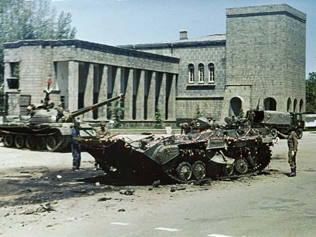 Улицы Кабула утром 28 апреля 1978 года. Источник: wikipedia.org