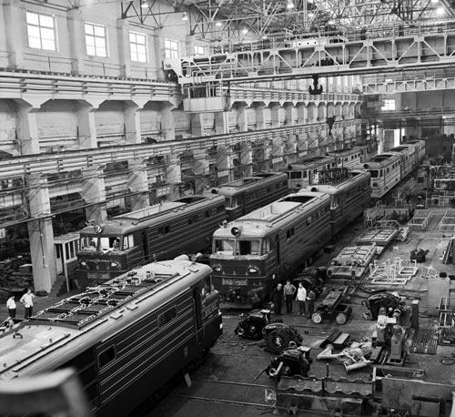 Новочеркасский электровозостроительный завод в советские времена. Источник: Моргунов В. / Фотохроника ТАСС