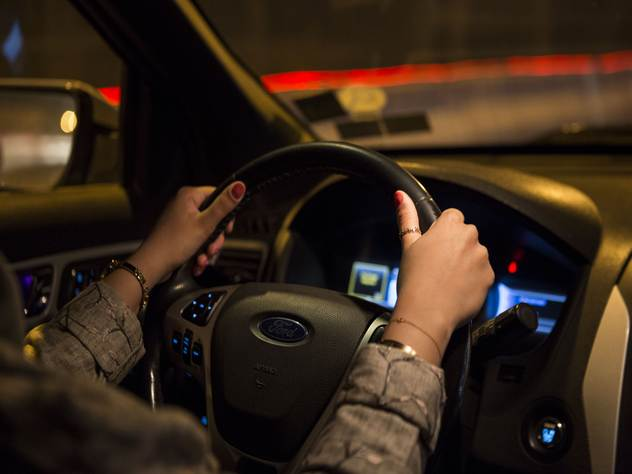 До 24 июня саудовские женщины имели право ездить на машине только в сопровождении мужчины-водителя.