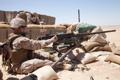 Военнослужащий США с пулеметом M2 Browning в Афганистане. 2012 год. Источник: wikimedia.org