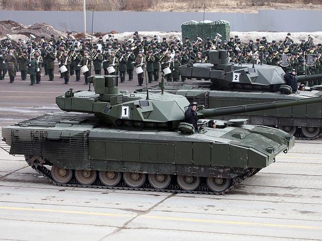 Пока еще управляемая экипажем Т-14 «Армата». Источник: wikipedia.org