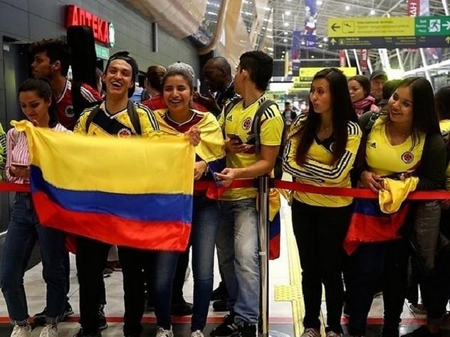 Массовый десант болельщиков из Колумбии высадится в Самаре накануне игры этой сборной с Сенегалом.