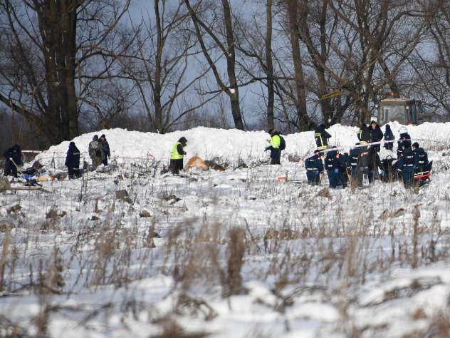 СК: экипаж виноват в крушении самолета Ан-148 в Подмосковье