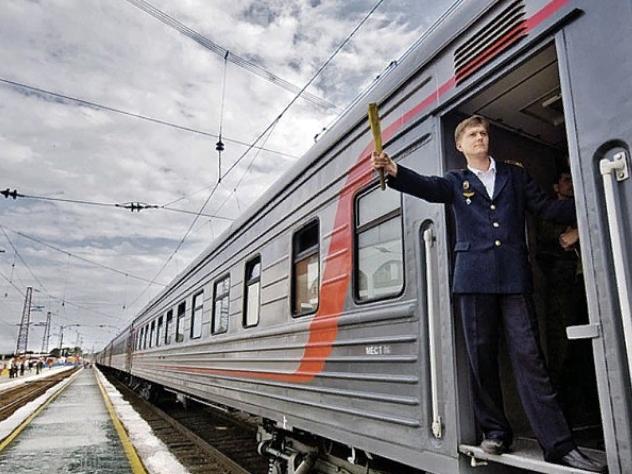 Местное время в поездах