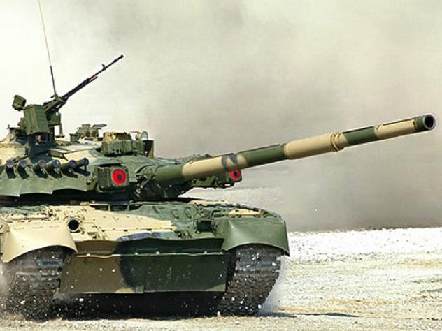 «Реактивные» танки поступили в арктическую группировку