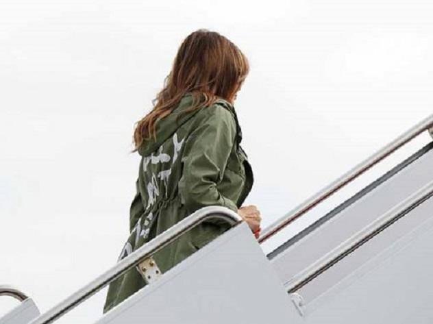В США появились куртки с надписью в пику Zara
