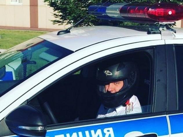 Иркутский гаишник получил приз зрительских симпатий на автогонках