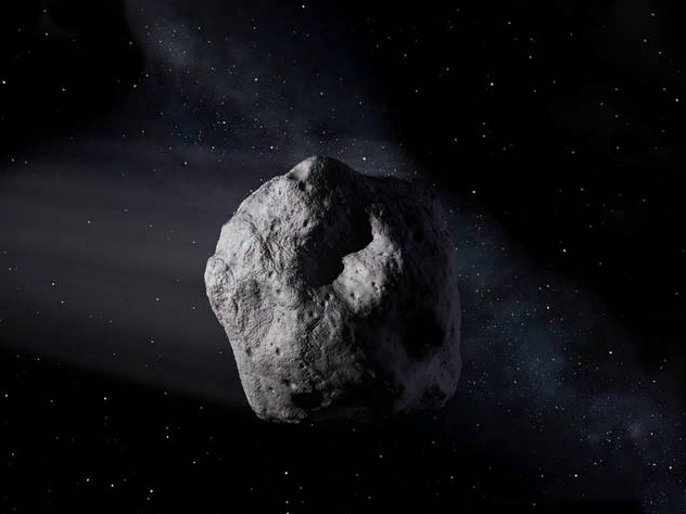 Небольшой метеорит, размером в 2 метра, двигался по траектории столкновения с Землей, но ученые рассчитали, что опасаться нечего. Небесное тело должно сгореть в атмосфере. Оно, как обещано, сгорело, но успело попасть на видео.