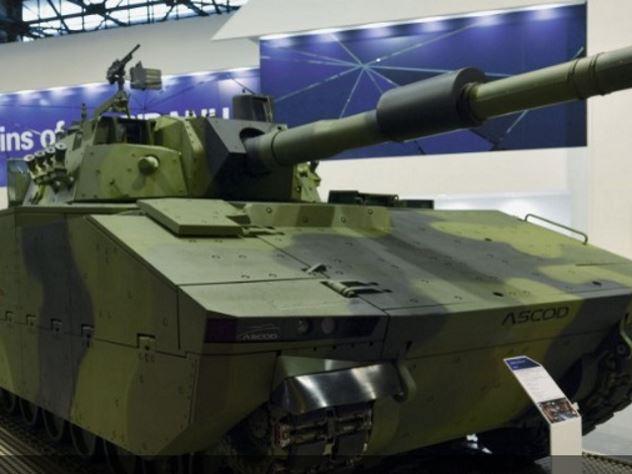 В Европе представили новый средний танк