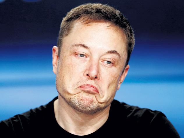 Илон Маск терпит убытки