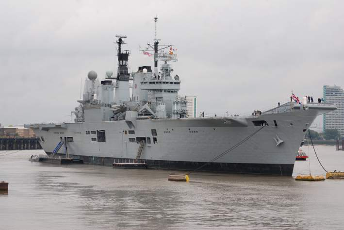 В Калининграде спустили на воду военный корабль