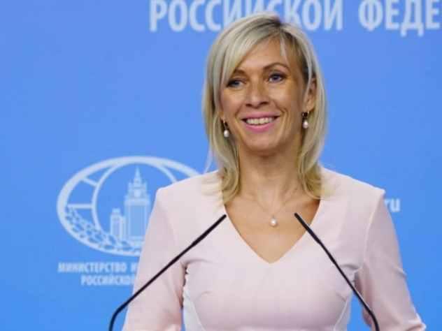 Мария Захарова весело проводит время на «Жаре»
