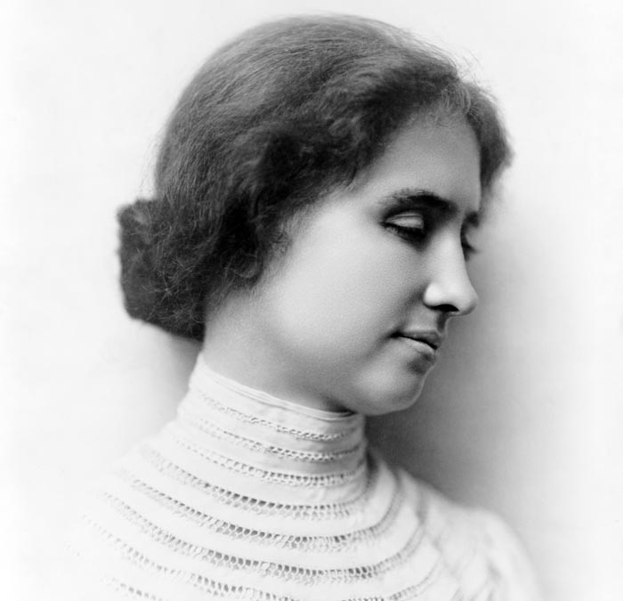 Хелен Келлер в возрасте 24 лет. Слепоглухонемая писательница и общественный деятель. Фото: wikimedia