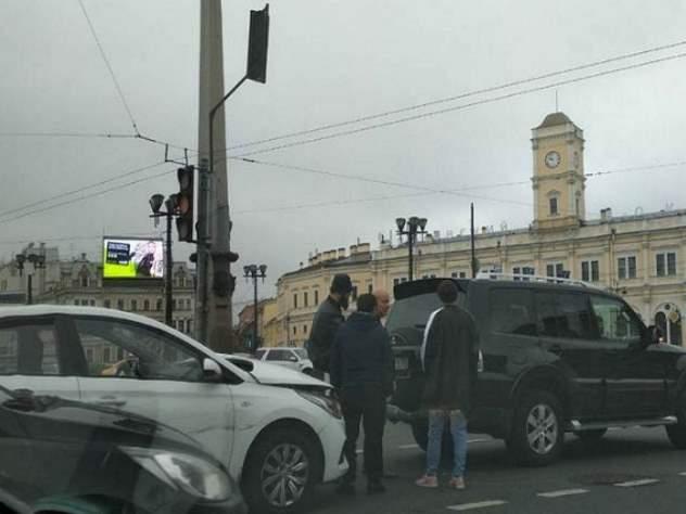 ДТП с маршруткой в Москве