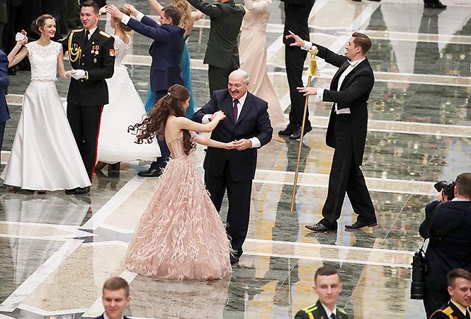 Александр Лукашенко и Мария Василевич