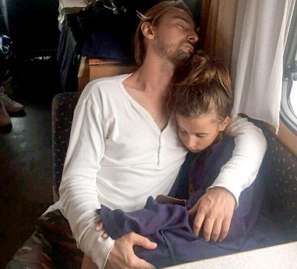 Клипмейкер с дочкой Лолитой