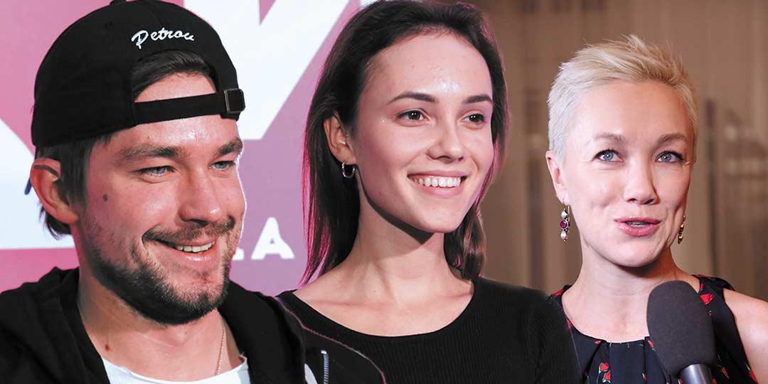 Счастливые Петров и Милославская и помолодевшая Дарья Мороз на светской премьере сериала «Триада»