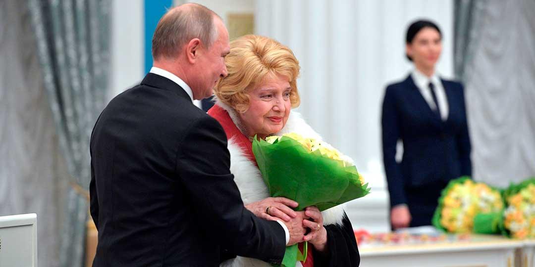 Интимный разговор Дорониной и Путина: о чем актриса просила президента. Фото: globallookpress.com