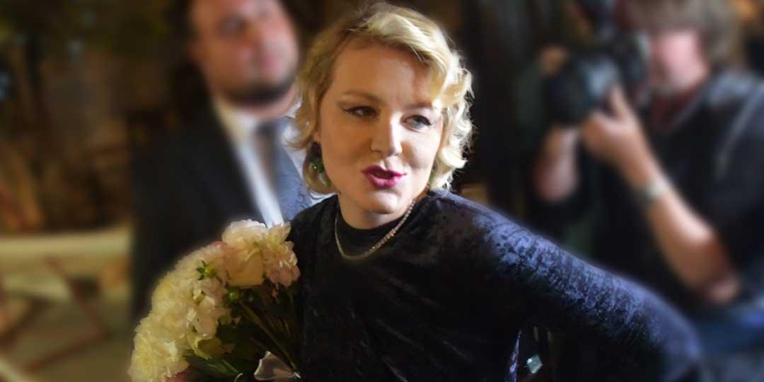 Рената Литвинова словила белочку