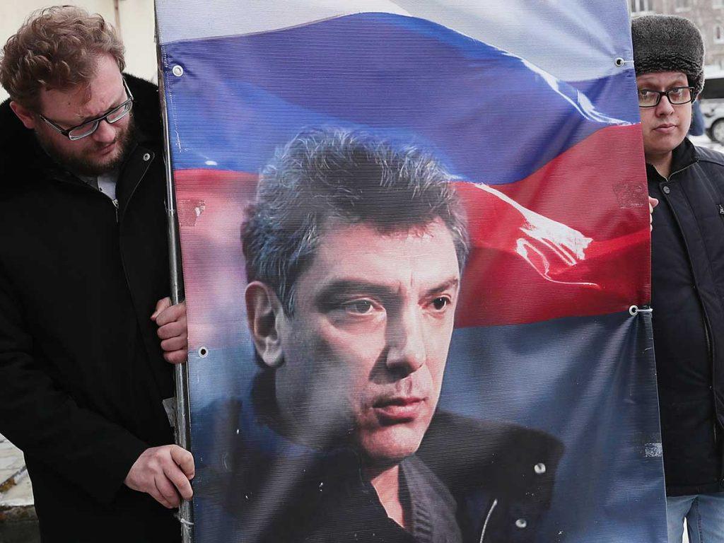 так фото с митинга бориса немцова в санкт петербурге характеризуется наличием