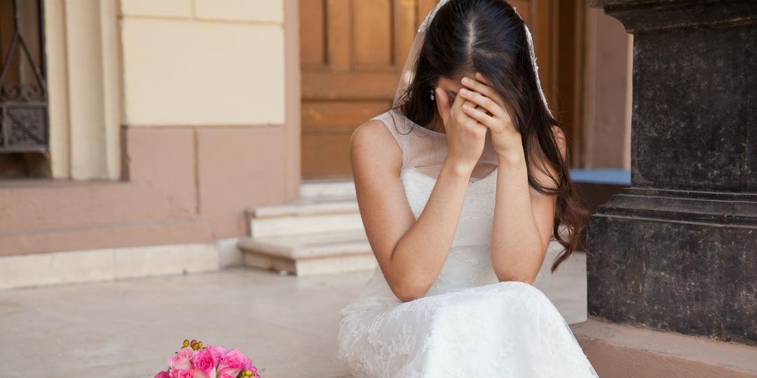 Невеста, смерть, свадьба, трагедия